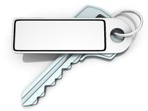 Key and label empty Stock Image
