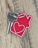 Key with label home Royalty Free Stock Images