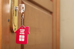 Key with label home Royalty Free Stock Photos