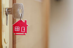 Key with label home Royalty Free Stock Image