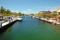 Key Largo Canals Stock Images