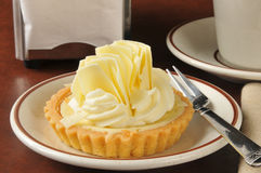Key lime dessert tart Stock Image