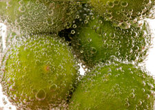 Key lime effervescent Stock Photography
