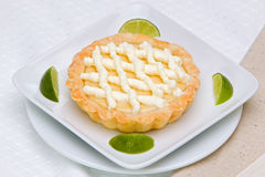 Key Lime Pie Royalty Free Stock Photos