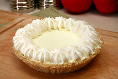 Key Lime Pie Royalty Free Stock Image