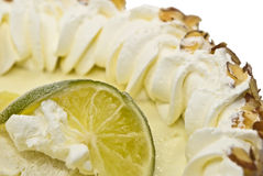 Key Lime Pie Close stock image