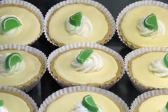 Key Lime Pie Lemon Curd Tarts Royalty Free Stock Images