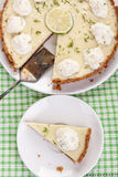 Key lime pie Stock Images