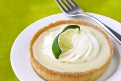 Key Lime tart stock photo