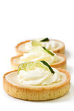 Key Lime tart Stock Image