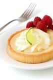 Key Lime tart stock image