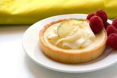 Key lime tart royalty free stock photos