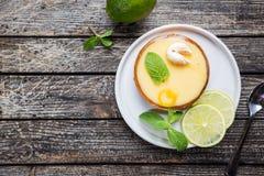 Key Lime Tarts Stock Photos