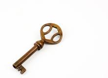 key litet för guld Royaltyfri Bild