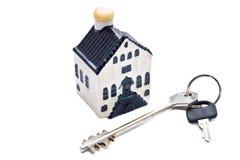 key litet för hus Arkivbilder