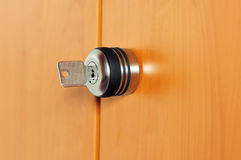 Key Lock Royalty Free Stock Images
