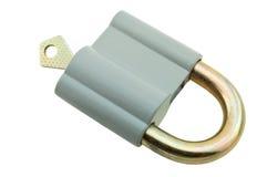 Key in lock Royalty Free Stock Photos