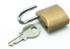 Key lock Royalty Free Stock Image