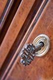 Key in the lock Royalty Free Stock Photo