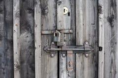 Key lock on the door. Stock Images