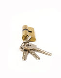 Key and lock Royalty Free Stock Image