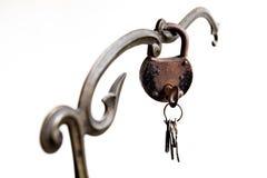 Key and Lock Stock Image