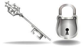 Key and lock Stock Photography