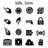 Key and lock system icon set. Vector illustration graphic design Royalty Free Stock Image