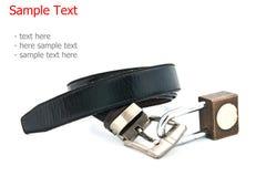 A key locked a belt Stock Images
