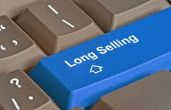 Key for long selling Stock Photos