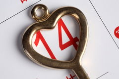 Key for love Royalty Free Stock Photography