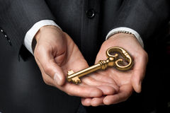 Key Management Business Trust Strategy Stock Photo