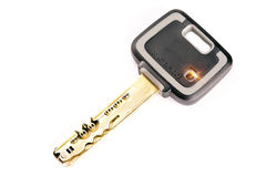 Key mechanical, crack-resistant, with high extent of protection.  stock photo