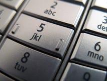 key mobil telefon Arkivbilder