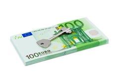 Key and money Royalty Free Stock Image