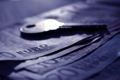 Key on Money Stock Images