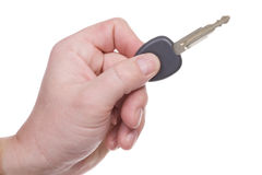 Key for the new car Stock Photos