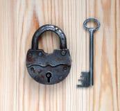 key padlock Arkivbilder
