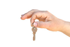 The key on palm Royalty Free Stock Image