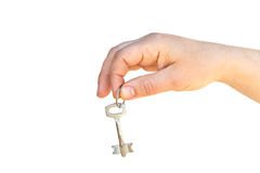 The key on palm Stock Images