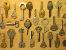 Key pattern Stock Images