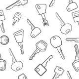 Key pattern vector illustration