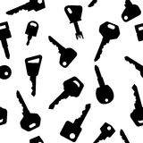 Key pattern Royalty Free Stock Images