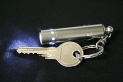 Key with pendant Royalty Free Stock Photography