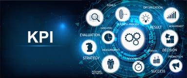 Key Performance Indicator. KPI background