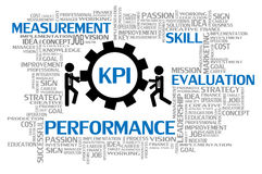 Key Performance Indicator or KPI. Business Concept Stock Photography
