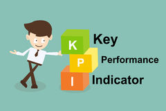 Key performance indicator (kpi) concept Royalty Free Stock Photo