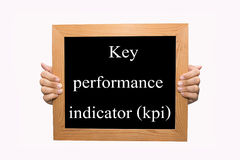 Key performance indicator (kpi) Royalty Free Stock Images