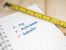 Key Performance Indicator 20 Royalty Free Stock Photo