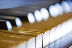 key piano Royaltyfri Fotografi